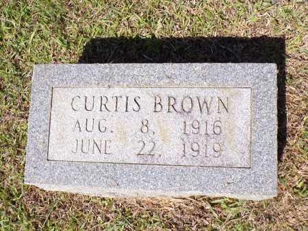 BROWN, CURTIS - Calhoun County, Arkansas | CURTIS BROWN - Arkansas Gravestone Photos