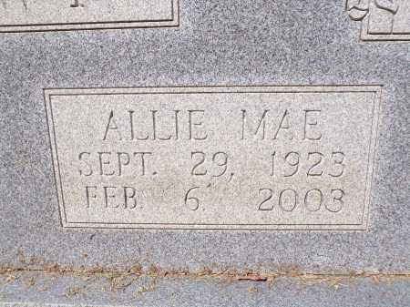 BROWN, ALLIE MAE (CLOSEUP) - Calhoun County, Arkansas | ALLIE MAE (CLOSEUP) BROWN - Arkansas Gravestone Photos