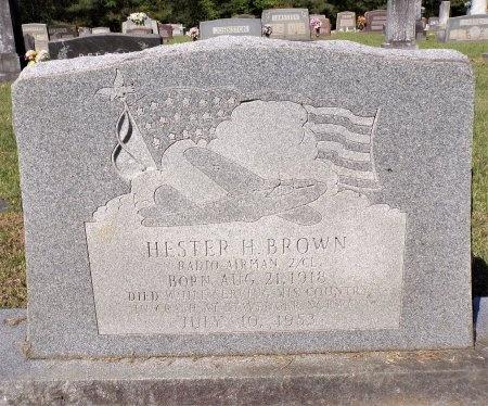 BROWN, HESTER H - Calhoun County, Arkansas   HESTER H BROWN - Arkansas Gravestone Photos