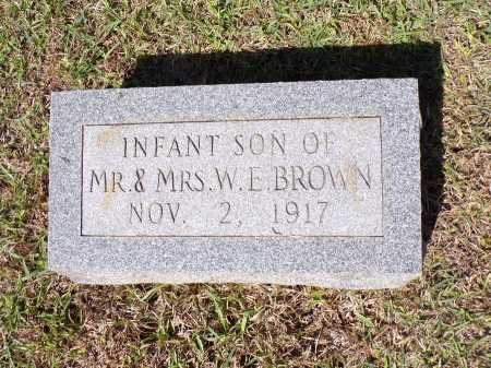 BROWN, INFANT - Calhoun County, Arkansas   INFANT BROWN - Arkansas Gravestone Photos
