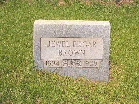 BROWN, JEWEL EDGAR - Calhoun County, Arkansas   JEWEL EDGAR BROWN - Arkansas Gravestone Photos