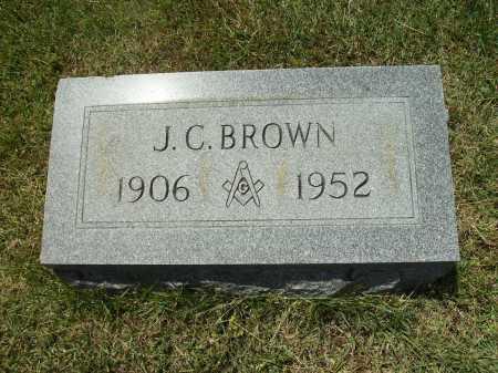 BROWN, JOHN CARLTON - Calhoun County, Arkansas | JOHN CARLTON BROWN - Arkansas Gravestone Photos