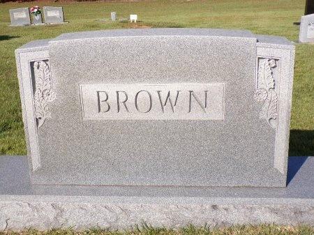 BROWN, MEMORIAL - Calhoun County, Arkansas | MEMORIAL BROWN - Arkansas Gravestone Photos