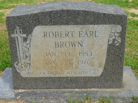 BROWN, ROBERT EARL - Calhoun County, Arkansas | ROBERT EARL BROWN - Arkansas Gravestone Photos