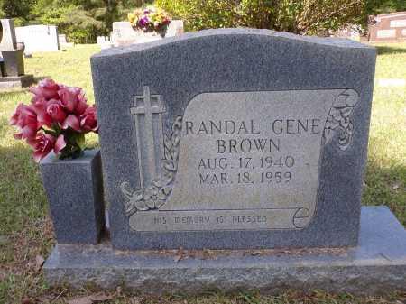 BROWN, RANDAL GENE - Calhoun County, Arkansas | RANDAL GENE BROWN - Arkansas Gravestone Photos