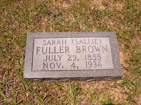 BROWN, SARAH (SALLIE) - Calhoun County, Arkansas | SARAH (SALLIE) BROWN - Arkansas Gravestone Photos