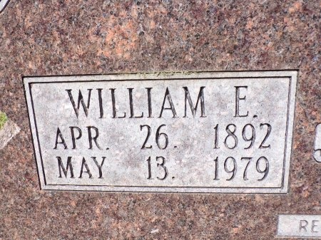BROWN, WILLIAM ELBERT (CLOSE UP) - Calhoun County, Arkansas | WILLIAM ELBERT (CLOSE UP) BROWN - Arkansas Gravestone Photos