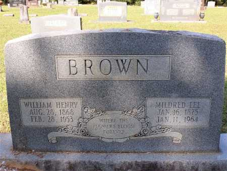 BROWN, WILLIAM HENRY - Calhoun County, Arkansas   WILLIAM HENRY BROWN - Arkansas Gravestone Photos