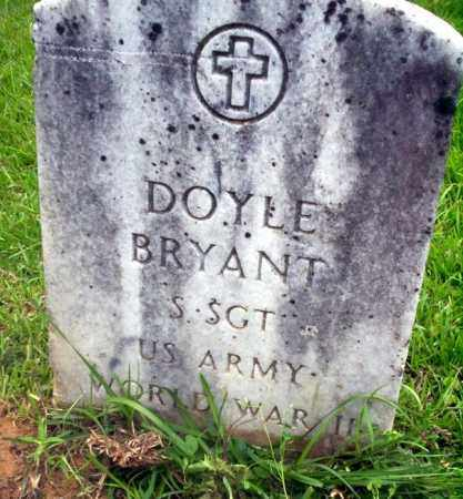BRYANT (VETERAN WWII), DOYLE - Calhoun County, Arkansas | DOYLE BRYANT (VETERAN WWII) - Arkansas Gravestone Photos