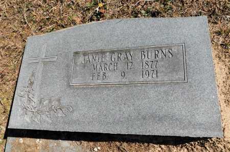 GRAY BURNS, JANIE - Calhoun County, Arkansas | JANIE GRAY BURNS - Arkansas Gravestone Photos