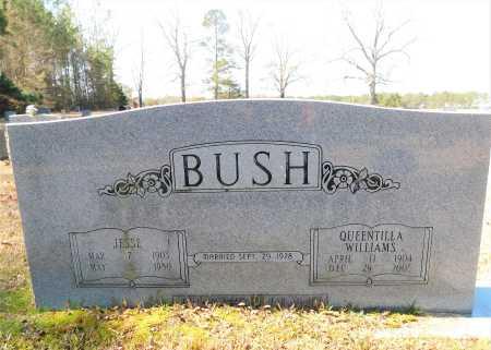 WILLIAMS BUSH, QUEENTILLA - Calhoun County, Arkansas | QUEENTILLA WILLIAMS BUSH - Arkansas Gravestone Photos