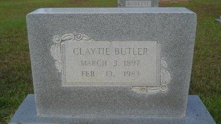 BUTLER, CLAYTIE - Calhoun County, Arkansas   CLAYTIE BUTLER - Arkansas Gravestone Photos