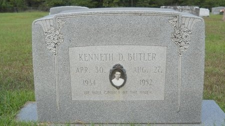 BUTLER, KENNETH D - Calhoun County, Arkansas | KENNETH D BUTLER - Arkansas Gravestone Photos