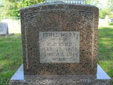 BYRD, ETHEL - Calhoun County, Arkansas | ETHEL BYRD - Arkansas Gravestone Photos