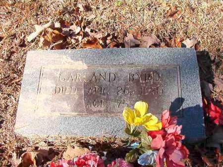 BYRD, GARLAND (CLOSE UP) - Calhoun County, Arkansas | GARLAND (CLOSE UP) BYRD - Arkansas Gravestone Photos