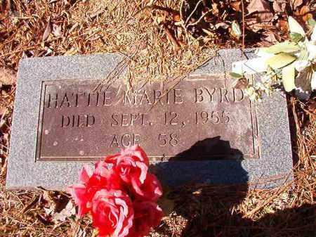 BYRD, HATTIE MARIE (CLOSE UP) - Calhoun County, Arkansas | HATTIE MARIE (CLOSE UP) BYRD - Arkansas Gravestone Photos