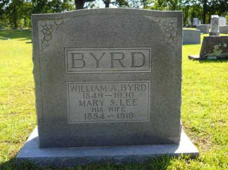 BYRD, WILLIAM A - Calhoun County, Arkansas | WILLIAM A BYRD - Arkansas Gravestone Photos