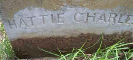 CHARLES, HATTIE - Calhoun County, Arkansas | HATTIE CHARLES - Arkansas Gravestone Photos
