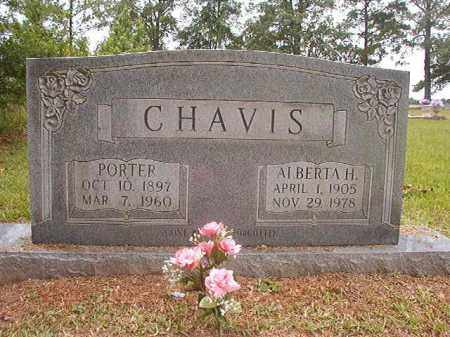 CHAVIS, PORTER - Calhoun County, Arkansas | PORTER CHAVIS - Arkansas Gravestone Photos