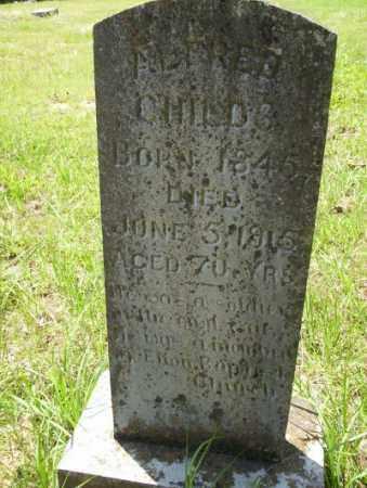 CHILDS, ALFRED - Calhoun County, Arkansas | ALFRED CHILDS - Arkansas Gravestone Photos