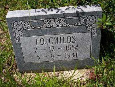 CHILDS, ED - Calhoun County, Arkansas | ED CHILDS - Arkansas Gravestone Photos