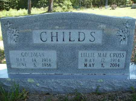 CHILDS, LILLIE MAE - Calhoun County, Arkansas | LILLIE MAE CHILDS - Arkansas Gravestone Photos