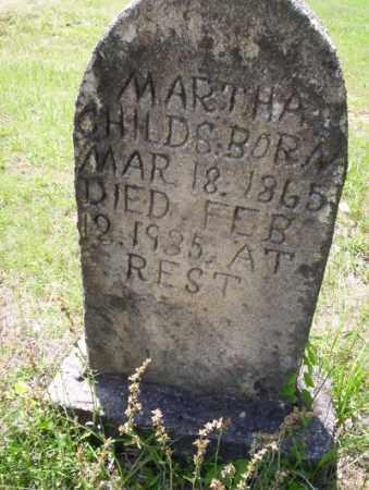 CHILDS, MARTHA - Calhoun County, Arkansas | MARTHA CHILDS - Arkansas Gravestone Photos