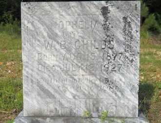 CHILDS, OPHELIA - Calhoun County, Arkansas   OPHELIA CHILDS - Arkansas Gravestone Photos