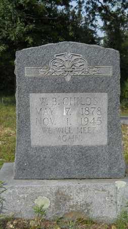 CHILDS, WEBER B - Calhoun County, Arkansas | WEBER B CHILDS - Arkansas Gravestone Photos