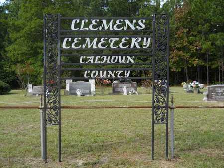 *CLEMENS CEMETERY, . - Calhoun County, Arkansas   . *CLEMENS CEMETERY - Arkansas Gravestone Photos