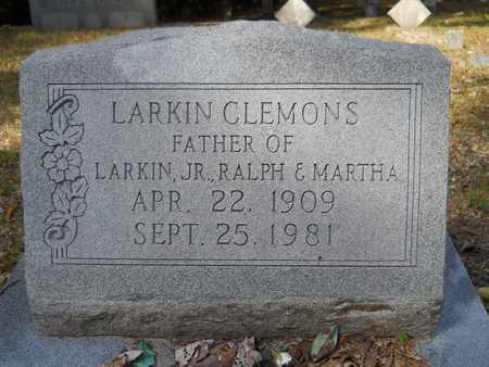 CLEMONS, LARKIN - Calhoun County, Arkansas   LARKIN CLEMONS - Arkansas Gravestone Photos