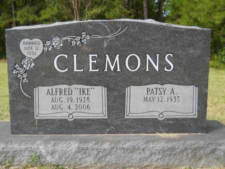 "CLEMONS, ALFRED ""IKE"" - Calhoun County, Arkansas   ALFRED ""IKE"" CLEMONS - Arkansas Gravestone Photos"