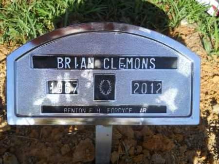 CLEMONS, BRIAN - Calhoun County, Arkansas   BRIAN CLEMONS - Arkansas Gravestone Photos