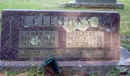 CLEMONS, CORA D - Calhoun County, Arkansas   CORA D CLEMONS - Arkansas Gravestone Photos