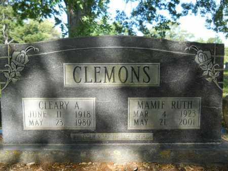 CLEMONS, CLEARY A - Calhoun County, Arkansas | CLEARY A CLEMONS - Arkansas Gravestone Photos