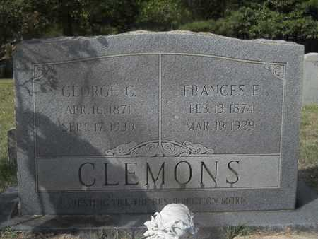 CLEMONS, FRANCES E - Calhoun County, Arkansas | FRANCES E CLEMONS - Arkansas Gravestone Photos