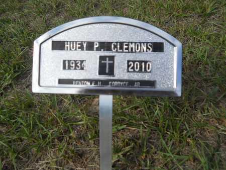 CLEMONS, HUEY P (CLOSEUP) - Calhoun County, Arkansas   HUEY P (CLOSEUP) CLEMONS - Arkansas Gravestone Photos