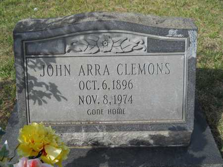 CLEMONS, JOHN ARRA - Calhoun County, Arkansas | JOHN ARRA CLEMONS - Arkansas Gravestone Photos