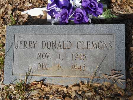 CLEMONS, JERRY DONALD - Calhoun County, Arkansas | JERRY DONALD CLEMONS - Arkansas Gravestone Photos
