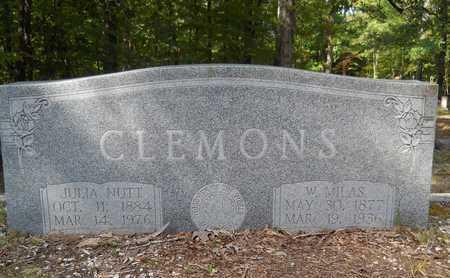 CLEMONS, W MILAS - Calhoun County, Arkansas   W MILAS CLEMONS - Arkansas Gravestone Photos