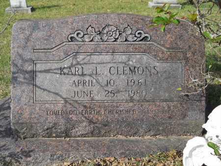 CLEMONS, KARL L - Calhoun County, Arkansas   KARL L CLEMONS - Arkansas Gravestone Photos