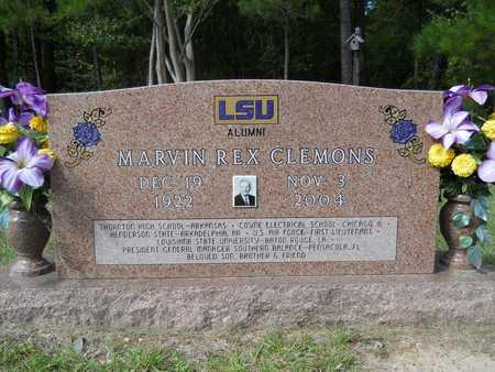 CLEMONS, MARVIN REX - Calhoun County, Arkansas   MARVIN REX CLEMONS - Arkansas Gravestone Photos