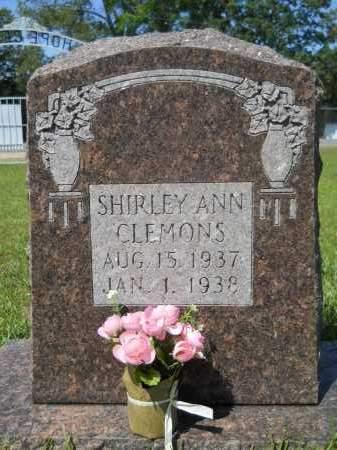 CLEMONS, SHIRLEY ANN - Calhoun County, Arkansas | SHIRLEY ANN CLEMONS - Arkansas Gravestone Photos