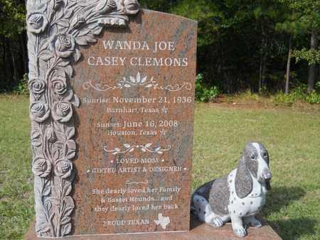 CLEMONS, WANDA JOE - Calhoun County, Arkansas   WANDA JOE CLEMONS - Arkansas Gravestone Photos
