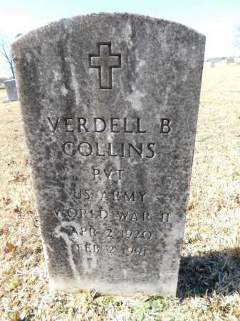 COLLINS (VETERAN WWII), VERDELL B - Calhoun County, Arkansas | VERDELL B COLLINS (VETERAN WWII) - Arkansas Gravestone Photos