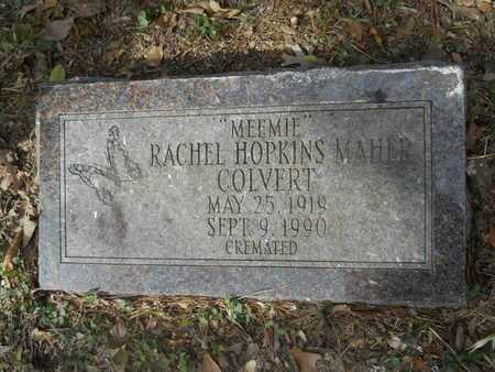 HOPKINS MAHER COLVERT, RACHEL - Calhoun County, Arkansas | RACHEL HOPKINS MAHER COLVERT - Arkansas Gravestone Photos