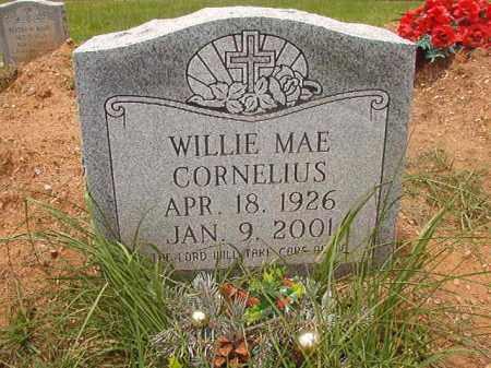CORNELIUS, WILLIE MAE - Calhoun County, Arkansas | WILLIE MAE CORNELIUS - Arkansas Gravestone Photos
