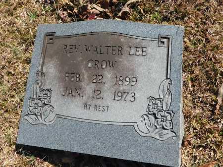 CROW, WALTER LEE, REV - Calhoun County, Arkansas | WALTER LEE, REV CROW - Arkansas Gravestone Photos