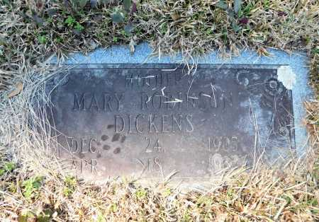DICKENS, MARY - Calhoun County, Arkansas | MARY DICKENS - Arkansas Gravestone Photos