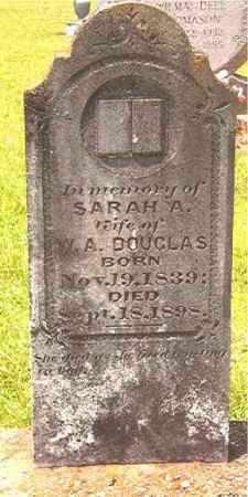 DOUGLAS, SARAH ANN - Calhoun County, Arkansas | SARAH ANN DOUGLAS - Arkansas Gravestone Photos